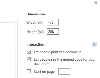 embed html in word document