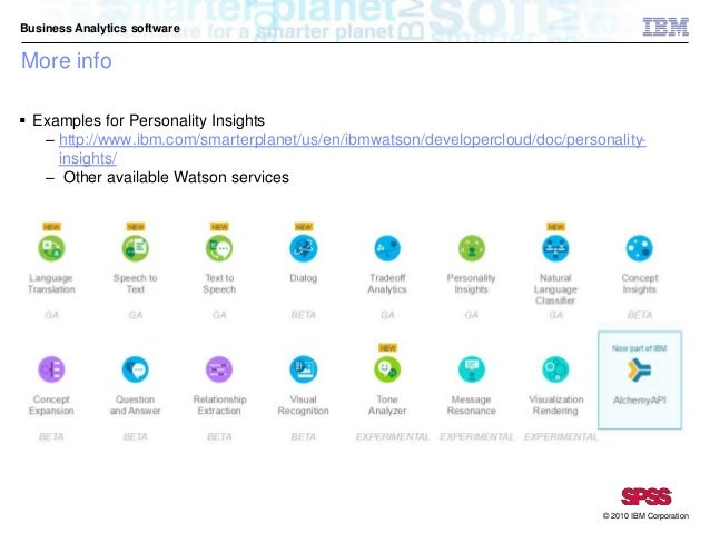 watson personality insights documentation