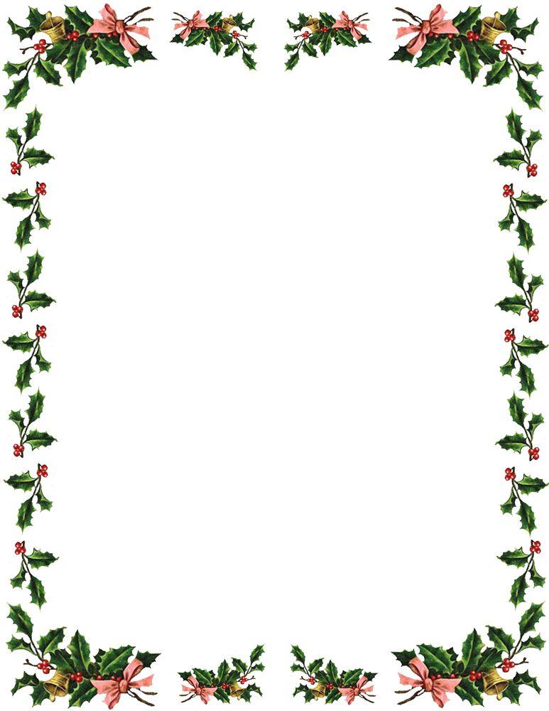 christmas themed border for word document