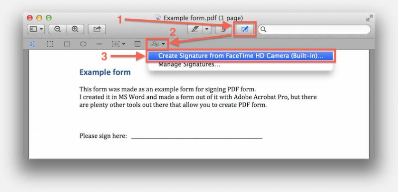 how to add signature to pdf document in preview