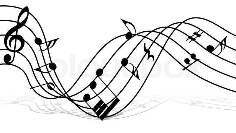 music note design document box