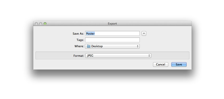 save an indesign document as a jpeg