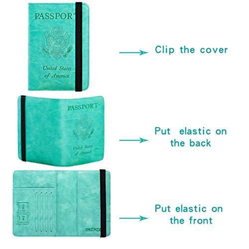 killiano rfid blocking passport holder and travel document organizer