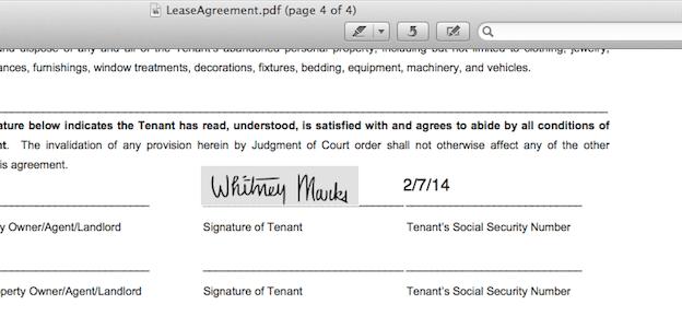 how do i put a signature on a pdf document