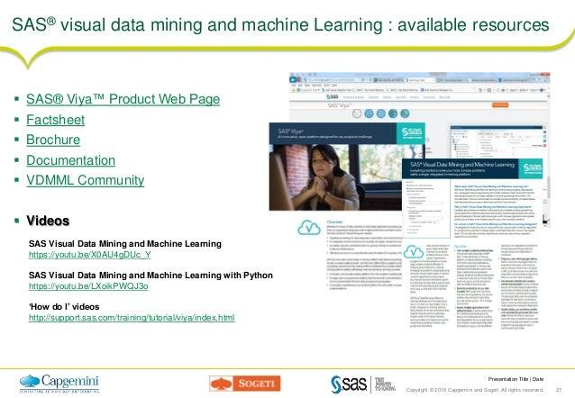 sas visual analytics documentation