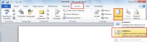 combine word document into one