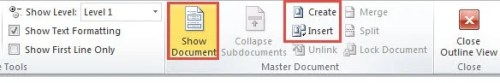 word how to split a document into 2 saves