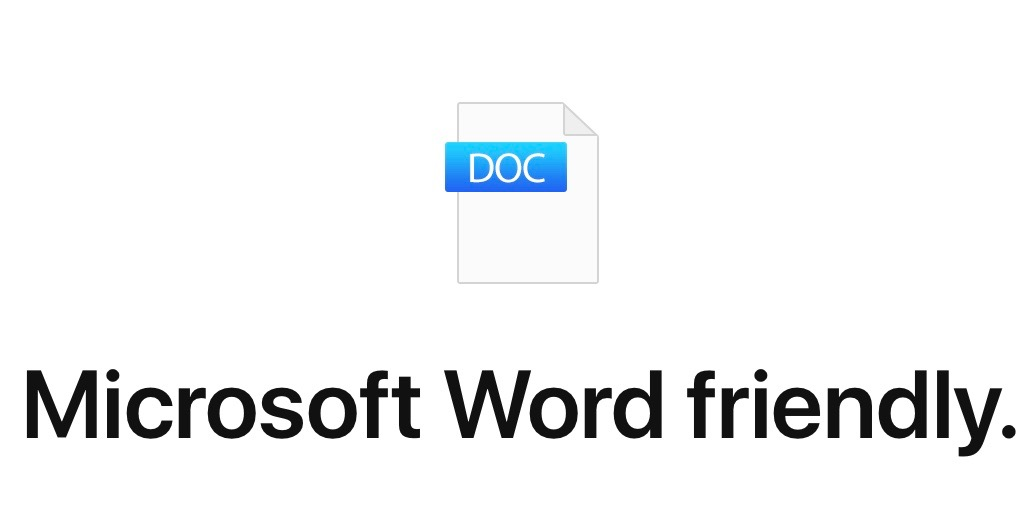 how to convert a mac document to word