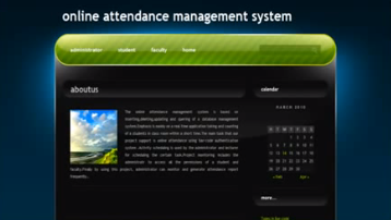 online student management system documentation