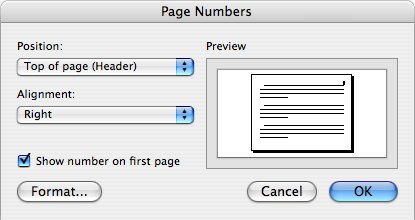 inserting a landscape page in a protrait document