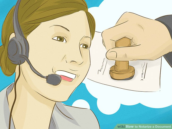 how to notarise a document