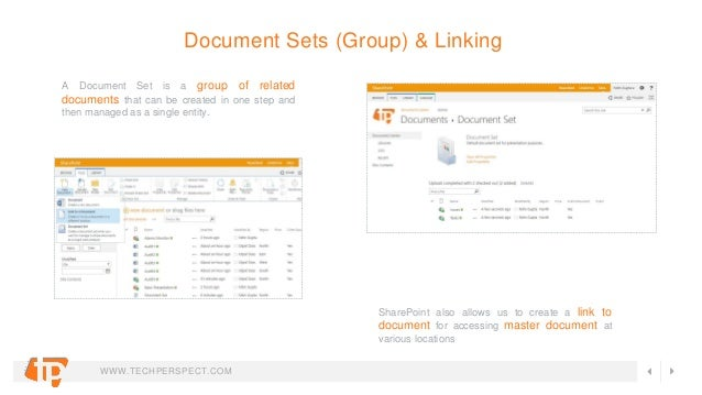 sharepoint document management system features