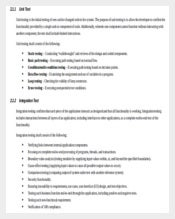 software test strategy document template