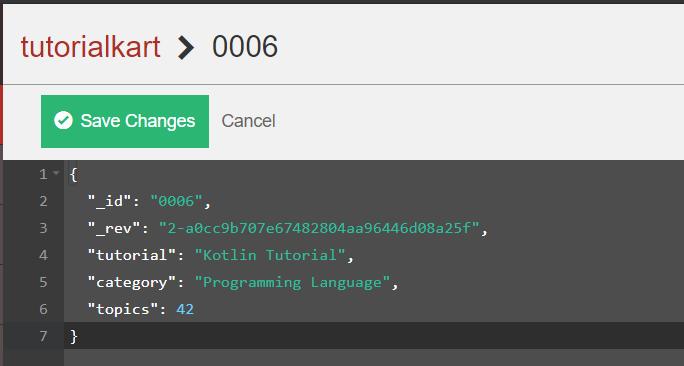 couchdb document update handler example