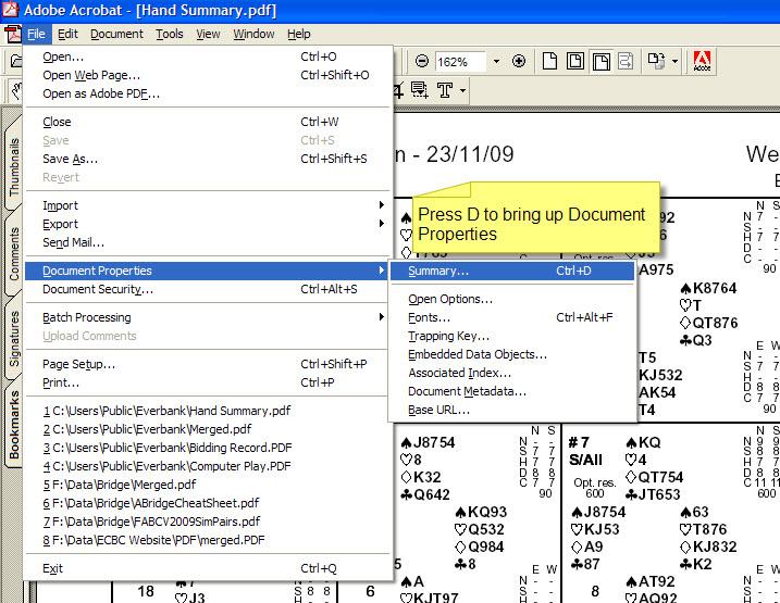 shrink a document acrobat 11