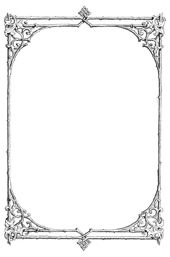 8.5 x 14 document frame