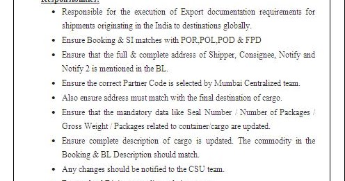 free export documentation software