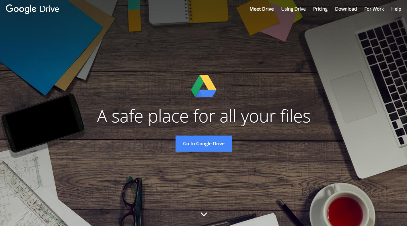 add shared document to google drive