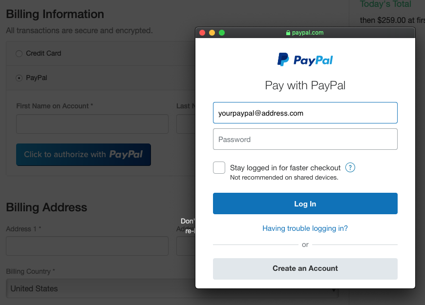 gravity forms paypal documentation