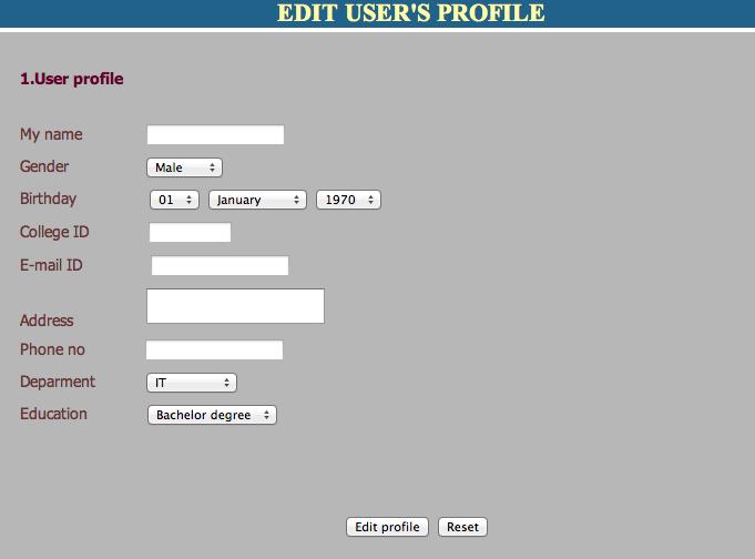event management system project documentation