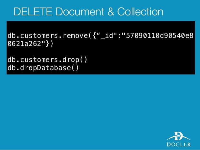 mongodb remove document by id