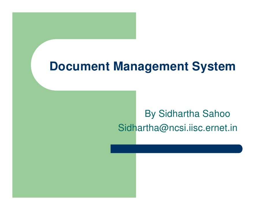 on premise document management system