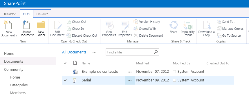 sharepoint 2013 document storage options