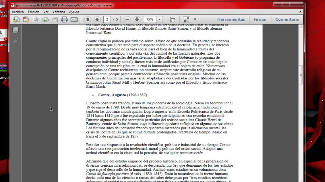 convertir un document en pdf