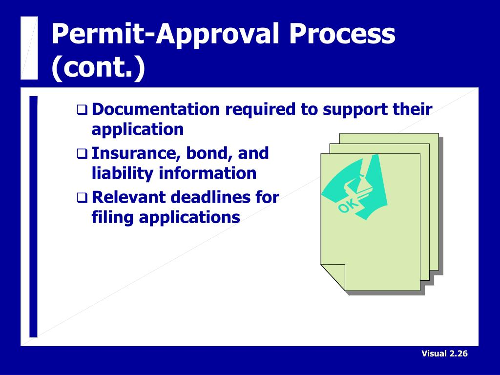 documentation required for planning approval