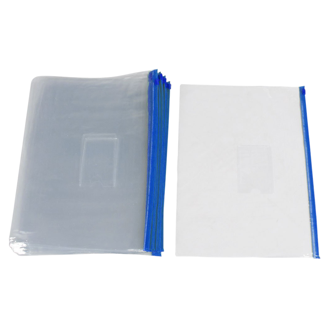 officemax polypropylene document wallet a4 blue