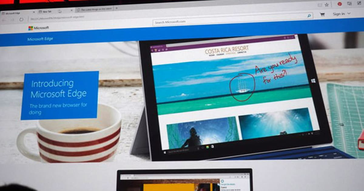how to sign a document on microsoft edge