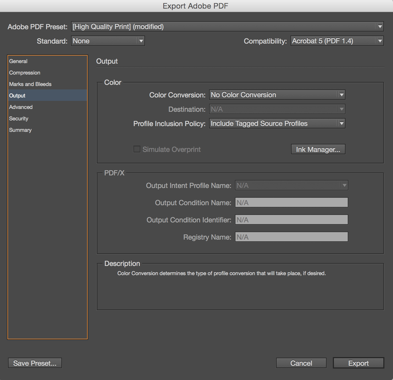 exporting as word document indesign