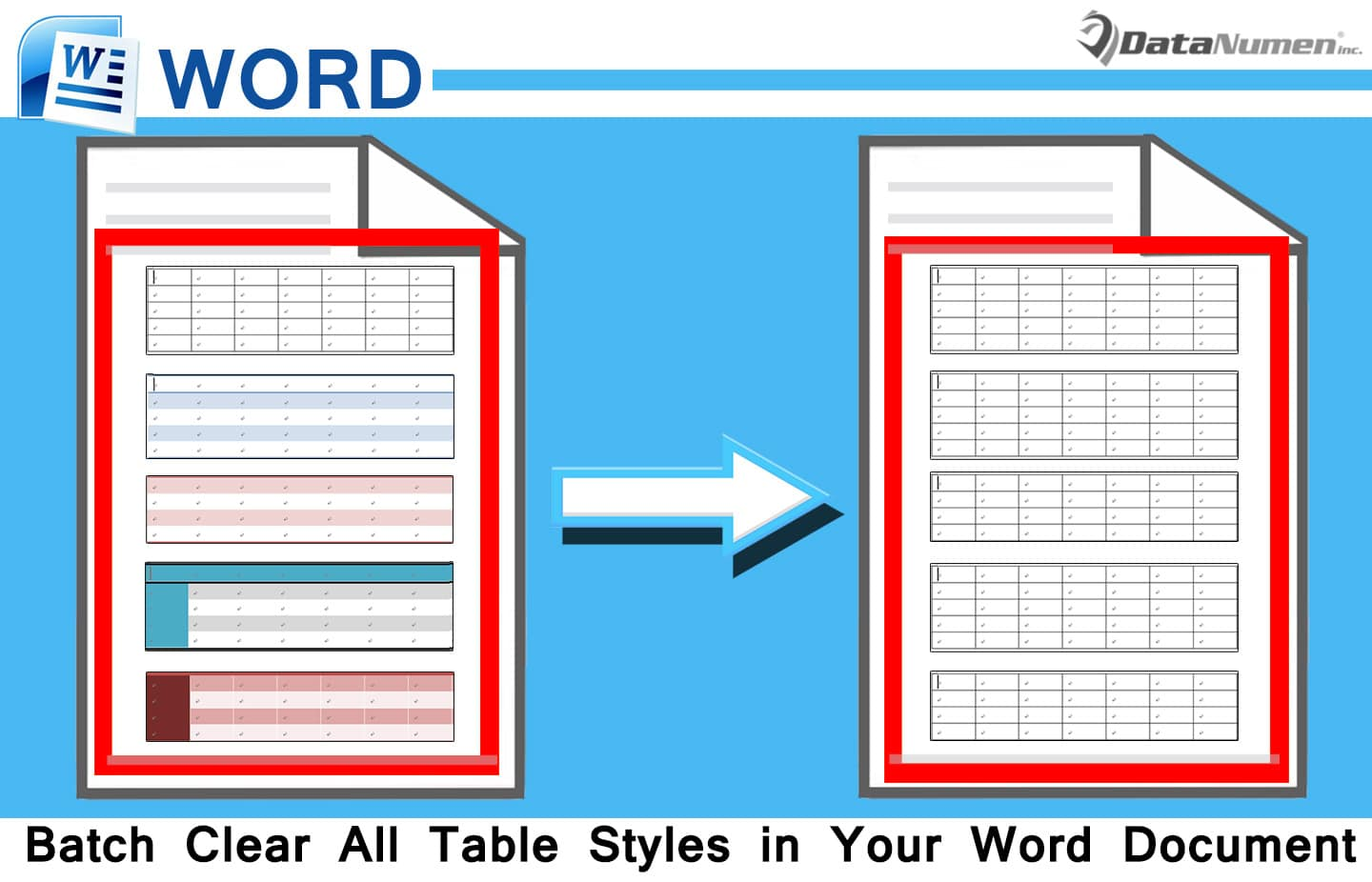 in a word document a style is