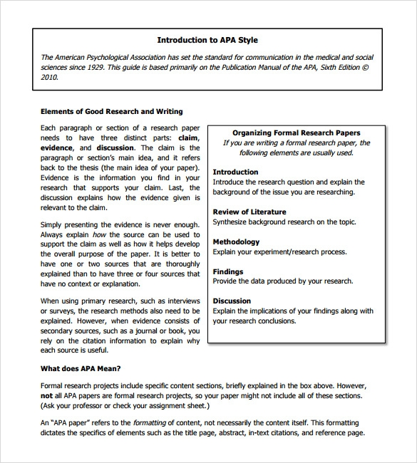 apa format word document template