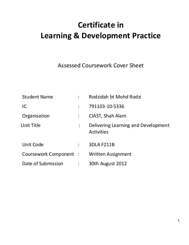 de nsw supporting documentation cover sheet