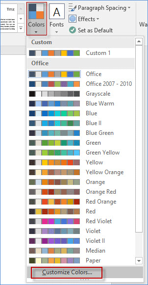 change powerpoint into word document