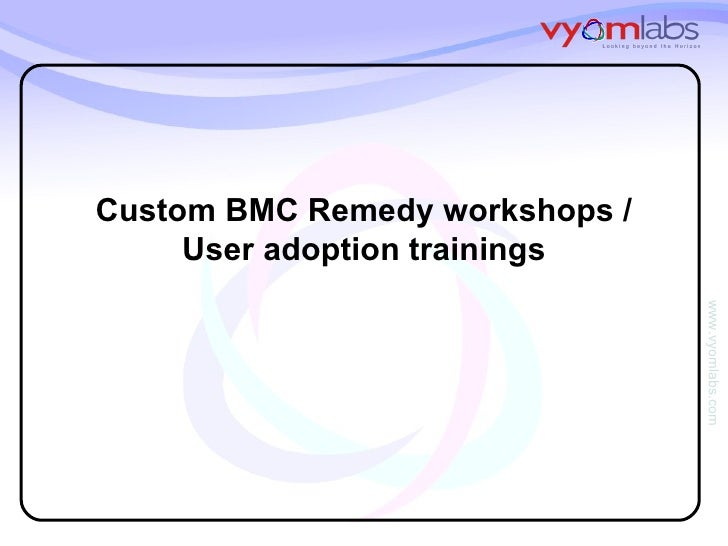 bmc remedy user documentation