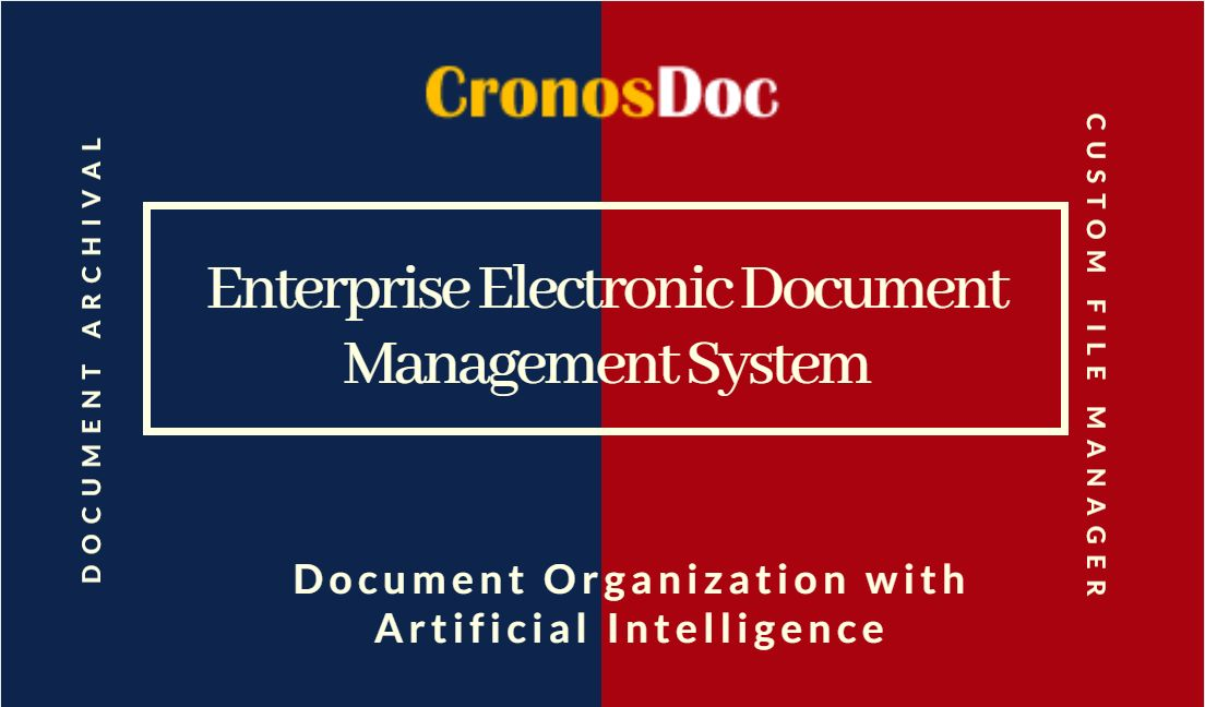 what is electronic document management system