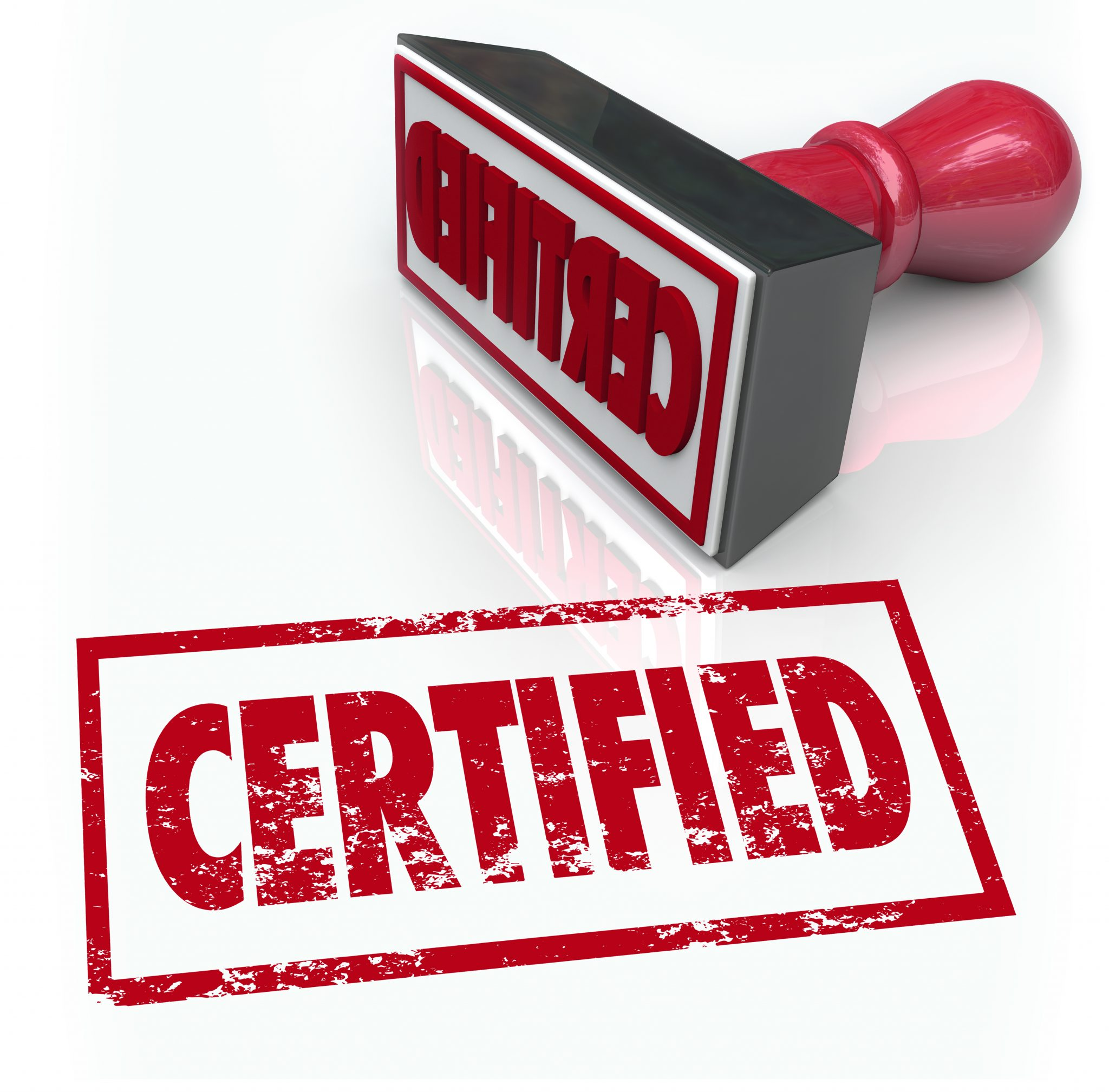 does a certified document need to be dated