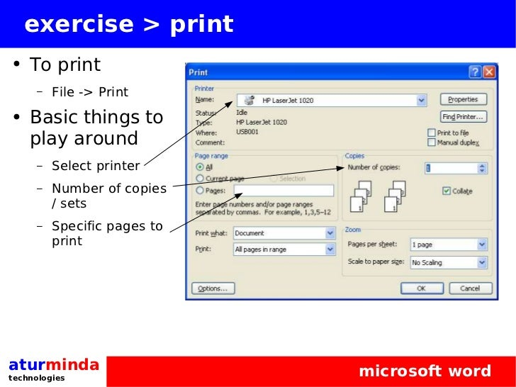 microsoft word 2007 always print this document to specific printer