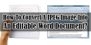 how to turn a photo into a word document
