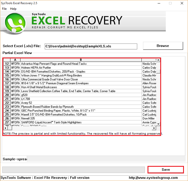 microsoft excel document not saved error