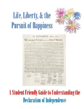life liberty and the pursuit of happiness document