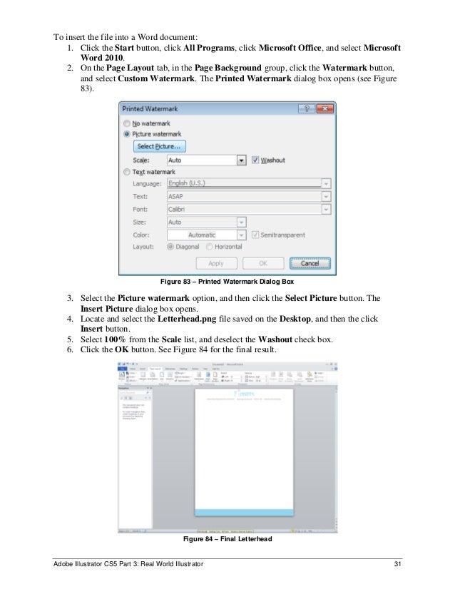 illustrator save as word document