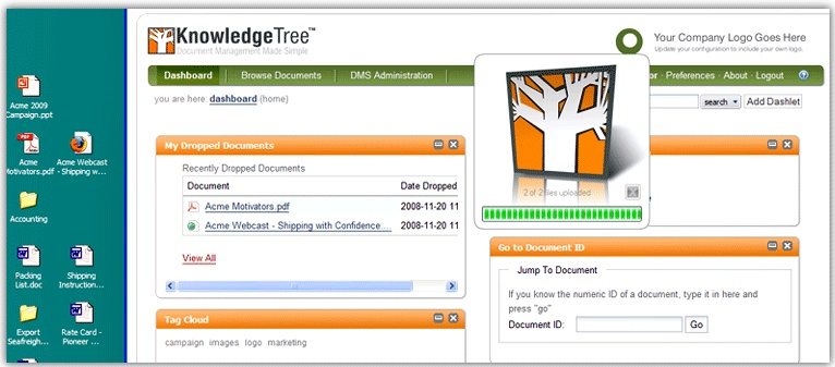 free open source document management system
