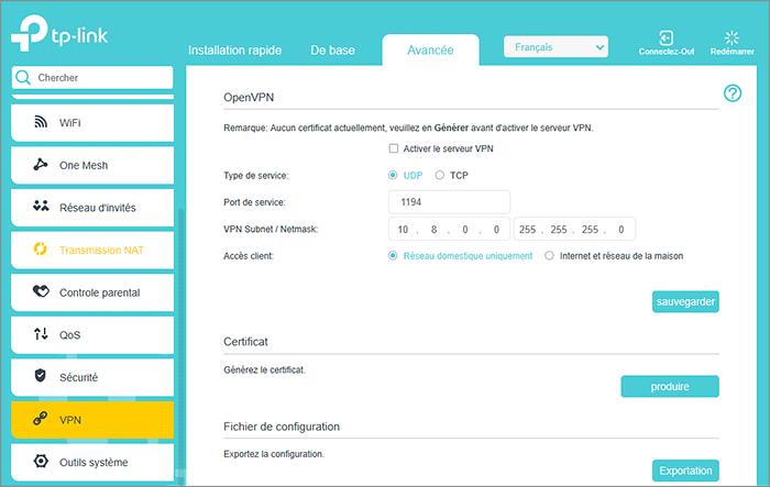 openvpn documentation configuration options