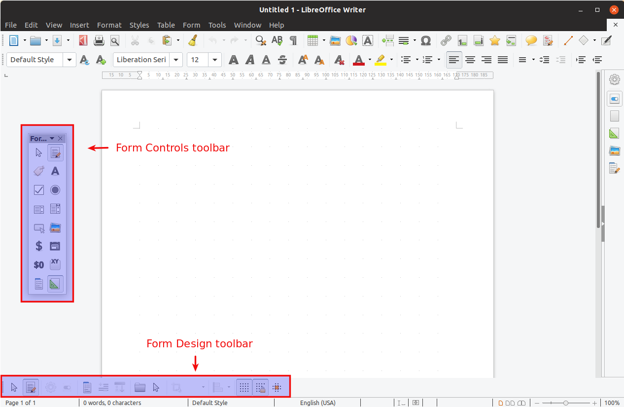 libre office writer how to convert document to pdf