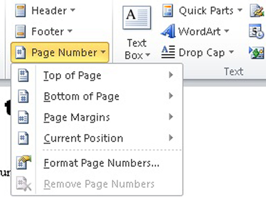 delete page from word document 2010