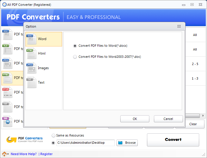 document to pdf file converter free download