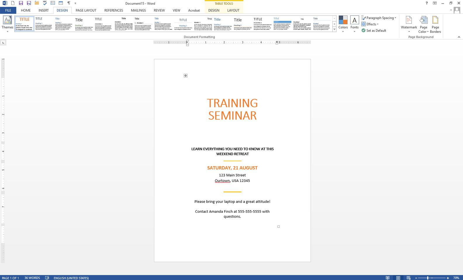 how to put lines in a word document
